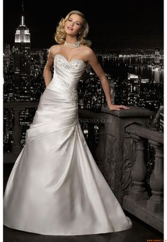Vestidos de noiva Madeline Gardner 37030 2012