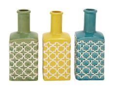 The Pleasant Ceramic Stripe Vase 3 Assorted