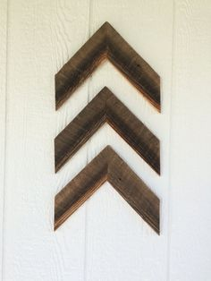 Chevron Arrows made from Reclaimed Barn Wood by nanaandpasnest on Etsy Nail Holes, Reclaimed Barn Wood, Cheap Furniture, Picture Show, Chevron, Hanger, Arrows, Rustic, Unique Jewelry