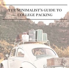 The Minimalist's Guide to College Packing | http://www.alyssajfreitas.com/2014/08/the-minimalists-guide-to-college-packing.html