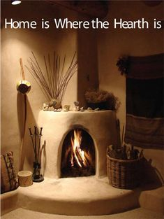 Taos News Southwest Decor, Southwestern Decorating, Southwest Style, Cob Building, Building A House, Adobe Fireplace, Fireplace Hearth, New Mexico Homes, Adobe House