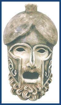 Greek Warrior Mask