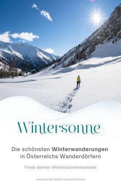Wir haben die schönsten Tourentipps zum Winterwandern. Weit weg von Skipisten und Menschenmassen. Geh raus, tanke Energie und sauge so viele Sonnenstrahlen auf wie möglich. Foto: Daniel Fischer