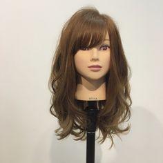 Long Bob Hairstyles, Hairstyles With Bangs, Braided Hairstyles, Long Hair With Bangs, Long Hair Cuts, Medium Hair Styles, Curly Hair Styles, Hair Arrange, Hair Setting