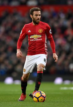 Juan Mata Photos - Juan Mata of Manchester United during the Premier League match between Manchester United and Sunderland at Old Trafford on December 2016 in Manchester, England. - Manchester United v Sunderland - Premier League Solo Soccer, Soccer Usa, Soccer Tips, Nike Soccer, College Basketball, Soccer Cleats, Manchester United Players, Manchester City, Manchester England