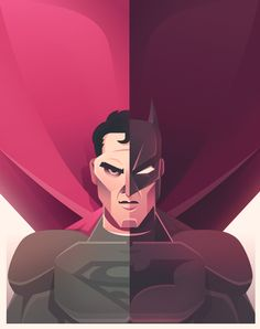 Batman v Superman: Dawn of Justice on Behance