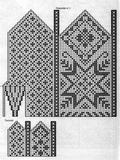 mittens vantar, looks like old northern pattern , sweden norway Картинка Knitted Mittens Pattern, Knit Mittens, Knitted Gloves, Knitting Socks, Knitting Charts, Knitting Stitches, Knitting Patterns Free, Stitch Patterns, Norwegian Knitting