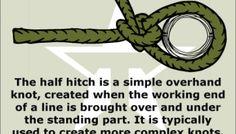 29 best titan survival knots images paracord braids, paracordhalf hitch survival prepping, survival skills, camping survival, rope knots, macrame knots