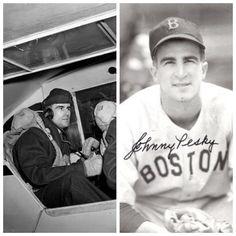 Johnny Pesky-WW2-1943-45-Army Air Force ( Baseball)
