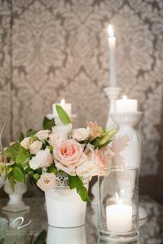 Flores e velas!