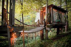 TREE HOUSE - PETER BAHOUTH   yo quiero uno en mi jardín