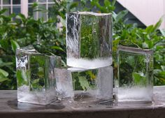 A Homemade Giant, Crystal Clear Ice Cube Tray Healthy Food Choices, Healthy Recipes, Drink Recipes, Cheers, Freeze Ice, Ice Blocks, Finger Nail Art, Ice Cube Trays, Summer Fun