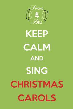 Keep Calm and Sing Christmas Carols Free Christmas Music, Christmas Carols Songs, Christmas Medley, Christmas Wishes, Carol Lyrics, Keep Calm Signs, Office Christmas Party, Stocking Ideas, Keep Calm Posters