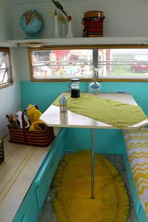 """Opendoor Studio: Vintage Travel Trailer ... little home away from home. """"Mabel"""". Belongs to Aubrey Smith"""
