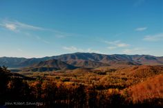 Love the Smoky Mountains in the Fall