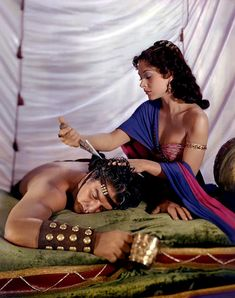 Hedy Lamarr  Victor Mature Samson and Delilah  (1949) - 8 1/2 X 11