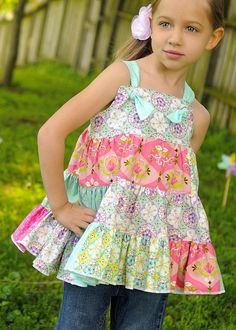 Blossom Knot / Jumper Dress by fluffygirlboutique on Etsy, $44.99