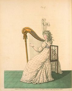 Morning Dress, April 1795, Gallery of Fashion