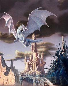 Dragons by Ciruelo Cabral