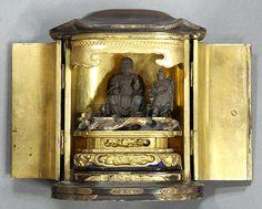 Japanese zushi (portable shrine), 19th century.