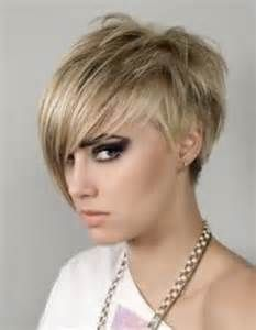 White dye Short Messy Pixie Hairstyle Haircuts for women Trends 2013
