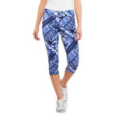Free 2-day shipping on qualified orders over $35. Buy Danskin Now Women's Active Allover Print Capri Legging at Walmart.com