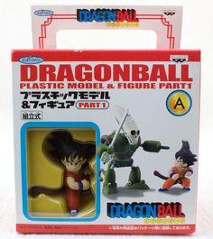 Dragon Ball Z Plastic Model Kit Figure Son Goku & Robot Banpresto JAPAN
