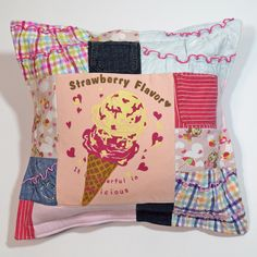 Baby Clothes Pillow from Jelly Bean Quilts jellybeanquilts.com