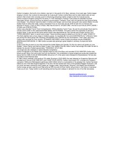 carlton-bio-1 by Carlton Livingston via Slideshare