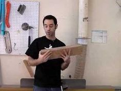 ▶ 6 - How to Mill Lumber Using a Jointer - YouTube