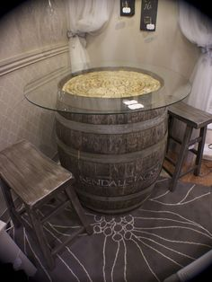 Wine Barrells Design, Pictures, Remodel, Decor and Ideas