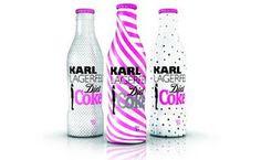 más diseños de Coca Cola, este de Karl Lagerfeld.