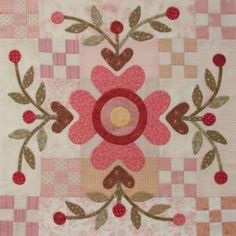 The Joy of Life by Rosalie Quinlan - BOM Quilt Pattern…