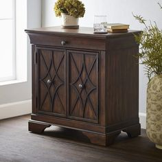 Found it at Wayfair - Delilah 1 Drawer Accent Cabinet Living Room Accents, Living Room Decor, Tuscan Furniture, Vanity Design, Wood Drawers, How To Distress Wood, Home Collections, Adjustable Shelving