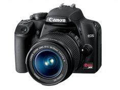 The EOS or Digital Rebel XS as it's known in North America, is Canon's latest entry-level DSLR. It's the true successor to the best-selling EOS / Rebel XTi an Canon Eos Rebel, Best Canon Dslr Camera, Dslr Camera Reviews, Dslr Cameras, Camera Gear, Leica Camera, Nikon Dslr, Film Camera, Gadgets