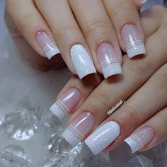 What manicure for what kind of nails? - My Nails Best Acrylic Nails, Acrylic Nail Designs, Nail Art Designs, French Manicure Nails, French Nails, Manicure Pedicure, French Pedicure, Pedicure Ideas, Nail Nail