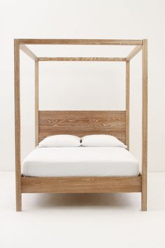 Woodland Slumber Canopy Bed - Anthropologie