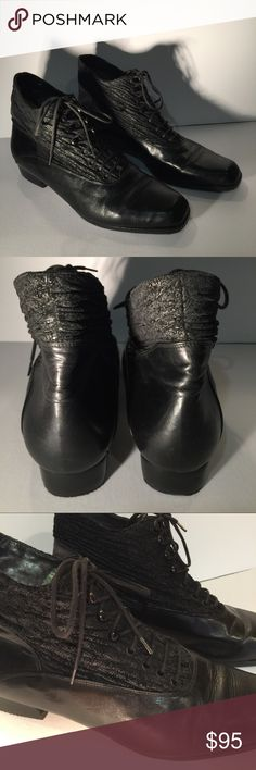 Mariatea Made in Italy Booties! Lovely shoes😘💕 Lots of detail from the ruched suede uppers to the intricate lacing! You'll love these! Gently worn! Stunning! 😘💕😱 Mariatea Shoes Ankle Boots & Booties