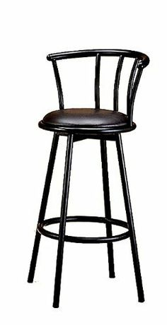 New Two Swivel Barstools In Black Finish by Cross. $59.99. Some assembly may be required. Please see product details.. NEW TWO SWIVEL BARSTOOLS IN BLACK FINISH (TABLE NOT ICLUDED). Save 58%!