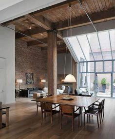 En los lofts tan importante es el espacio como la libertad de movimiento.