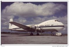 Hawaii Pacific Air ATL-98 Carvair Cargo Plane At Honolulu Hawaii Airport, Airport Equipment - 1946-....: Ere Moderne