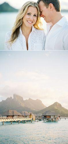 This Tropical Bora Bora Honeymoon shoot captured by Jose Villa and planned by Every After Honeymoons took place at Four Seasons Bora Bora. Popular Honeymoon Destinations, Honeymoon On A Budget, Honeymoon Fund, Honeymoon Places, Romantic Honeymoon, Honeymoon Packages, Amazing Destinations, Honeymoon Ideas, Travel Destinations