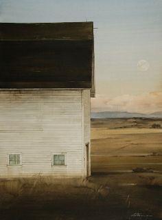 Joseph Alleman - Montgomery Lee Fine Art  - white dusk