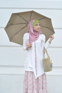 a cute hijab style