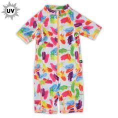 Molo Baby Girls UV swimsuit bij www.kleertjes.com