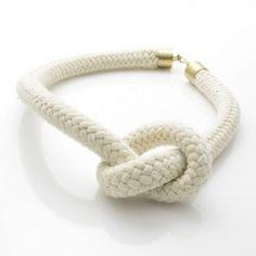 Naszyjnik Sail #potyradesign #handmade #jewelry #neclace #sail #sailing #white #naszyjnik #lina #bialy