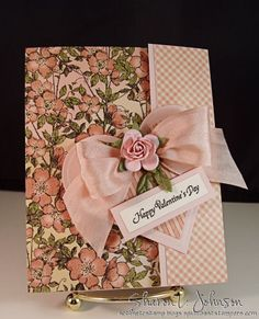 his is a pocket valentine, but it would also make a great gift card holder for a wedding or similar even