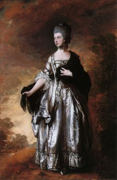 Isabella, Viscountess Molyneux (later Countess of Sefton), 1769 by Thomas Gainsborough