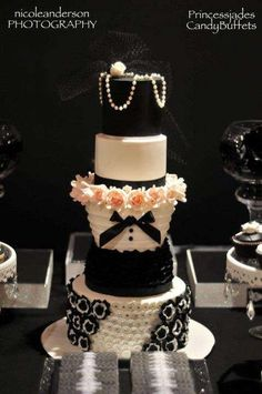 CHANEL inspired Birthday Party Ideas | Photo 2 of 22 | Catch My Party