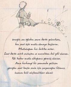 Küçük Prens Poem Quotes, Poems, Famous Quotes, Best Quotes, Good Sentences, German Quotes, My Motto, Strong Love, The Little Prince